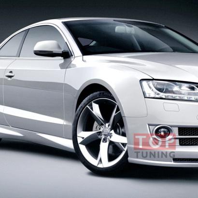 Накладки на пороги - обвес на Audi A5