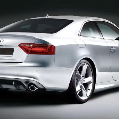 Диффузор заднего бампера - обвес на Audi A5
