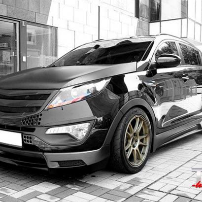 Обвес - комплект на Kia Sportage 3 (III)