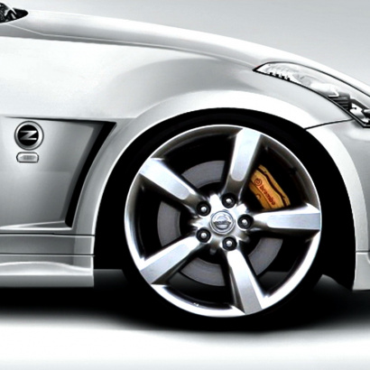 Передние крылья - Комплект на Nissan 350Z
