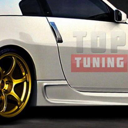 Накладки на пороги - Тюнинг на Nissan 350Z