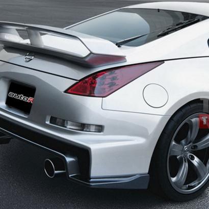 Задний бампер - Тюнинг на Nissan 350Z