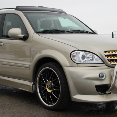 Пороги - Тюнинг Creator Hunter на Mercedes ML 163