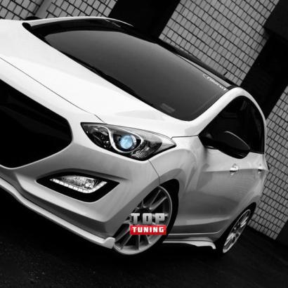 Тюнинг - Обвес на Hyundai i30