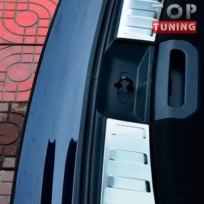 Накладки на внутренний порог багажника на Nissan X-Trail T32