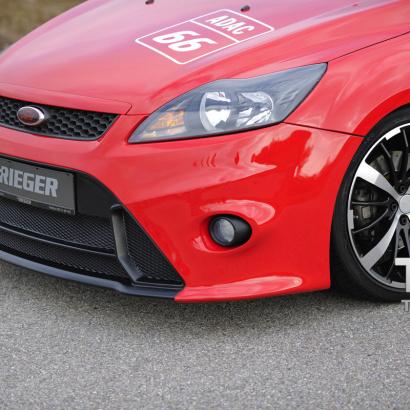 Передний бампер RIEGER RS Design рестайлинг на Ford Focus 2
