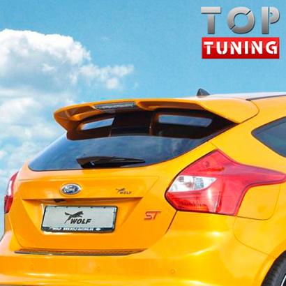 Тюнинг - Спойлер на Ford Focus 3