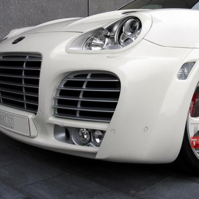 Корпусы модулей противотуманных фар Tech Art Magnum на Porsche Cayenne 955