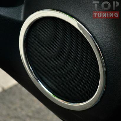 Кольца динамиков в дверях TECH Design Light на Nissan X-Trail T32