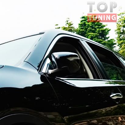 Молдинги крепления зеркал на Nissan X-Trail T32