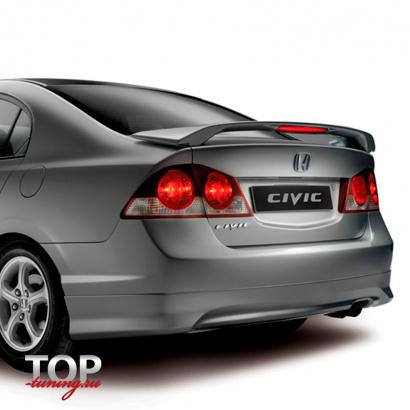 Тюнинг - Спойлер на Honda Civic 4D (8)