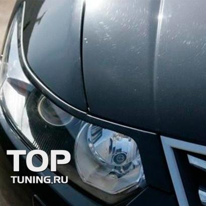 Накладки - Реснички на фары на Honda Accord 8