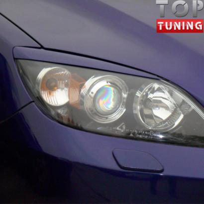 Тюнинг - Реснички Light V1 на Mazda 3 BK