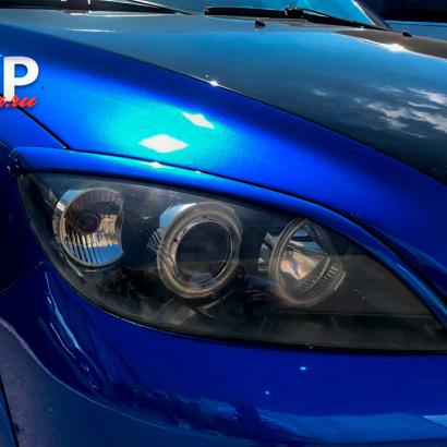 Тюнинг - Реснички Light V2 на Mazda 3 BK