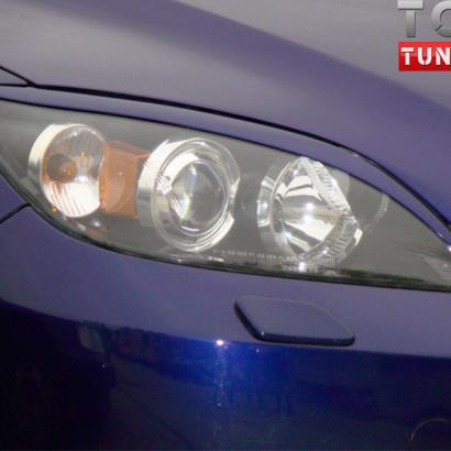 Тюнинг - Реснички Light на Mazda 3 BK