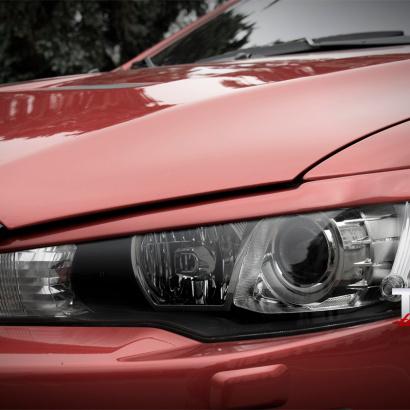 Тюнинг - Реснички EVO Style на Mitsubishi Lancer 10 (X)
