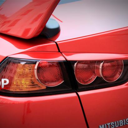 Реснички на задние фонари Evo Style на Mitsubishi Lancer 10 (X)
