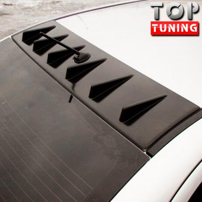 Козырек широкий на крышу на Mitsubishi Lancer 10 (X)