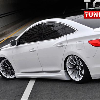Тюнинг - Пороги на Hyundai Grandeur 5