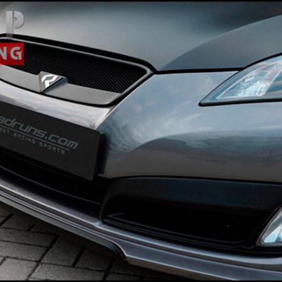 Тюнинг - Юбка переднего бампера на Hyundai Genesis 1