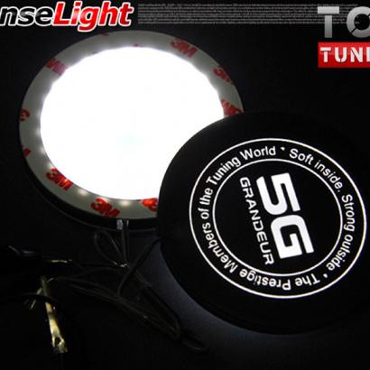 Накладки с светодиодной подсветкой на Hyundai Grandeur 5