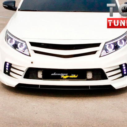 Тюнинг - Передний бампер MyRide на Kia Optima 3 (K5)
