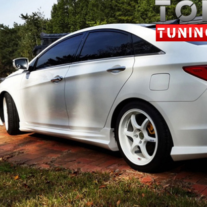 Тюнинг - Пороги на Hyundai Sonata 6 (YF)
