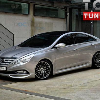 Тюнинг - Обвес Ixion на Hyundai Sonata 6 (YF)