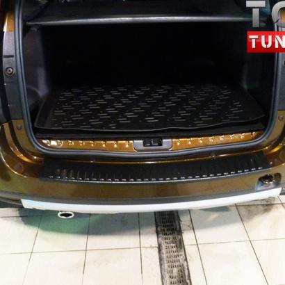 Тюнинг - Накладка на задний бампер Малая (защита) на Renault Duster 1