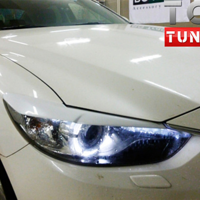Тюнинг - Реснички на Mazda 6 GJ