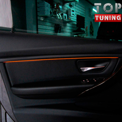 Тюнинг - Подсветка салона на BMW 3 F30
