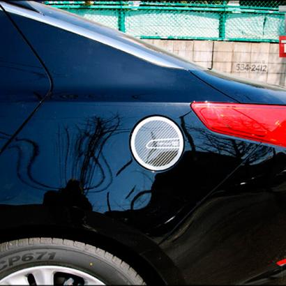 Накладка на лючок бензобака на Kia Optima 3 (K5)