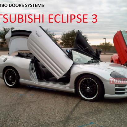 Ламбо петли тюнинг на Mitsubishi Eclipse 3 (D30)