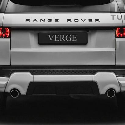 Тюнинг - Накладки на задний бампер на Land Rover Range Rover Evoque