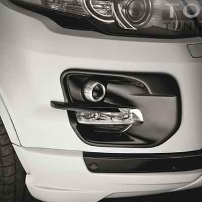 Тюнинг - Накладки на ПТФ на Land Rover Range Rover Evoque