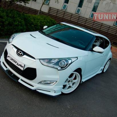 Тюнинг - Обвес на Hyundai Veloster
