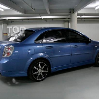 Боковые пороги на Chevrolet Lacetti