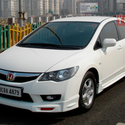 Тюнинг - Обвес на Honda Civic 4D (8)