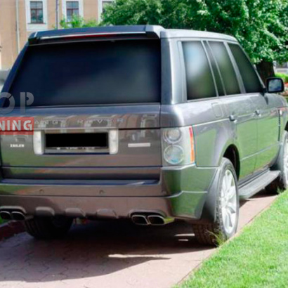 Накладка на задний бампер Model - Z на Land Rover Range Rover Vogue 3