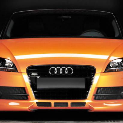 Юбка переднего бампера - Обвес  на Audi TT 8J