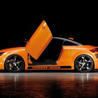 Пороги - Обвес на Audi TT 8J