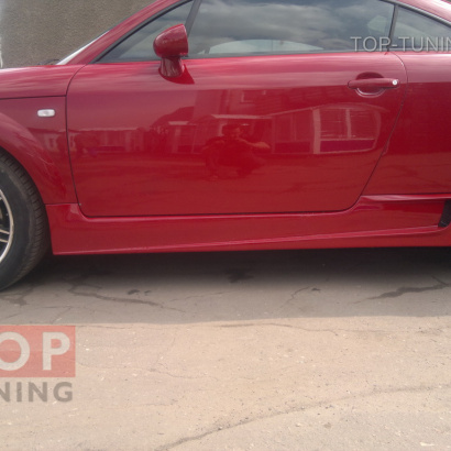 Пороги - Обвес NTC на Audi TT 8N