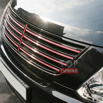 Решетка радиатора на Hyundai Grand Starex