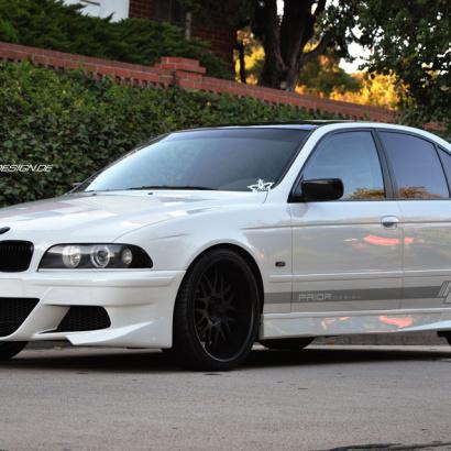 Аэродинамический обвес на BMW 5 E39
