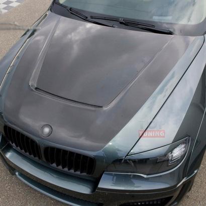 Альтернативный капот на BMW X5 E70
