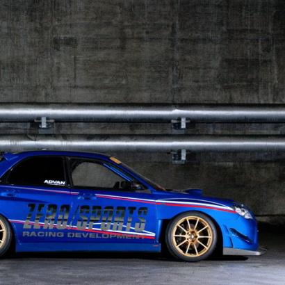 Пороги - Обвес на Subaru Impreza WRX GD