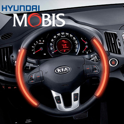 Руль с подогревом Mobis на Kia Sportage 3 (III)