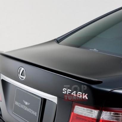 Спойлер крышки багажника на Lexus LS