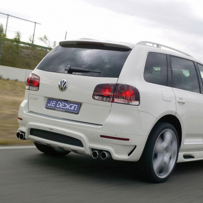 Спойлер на VW Touareg I