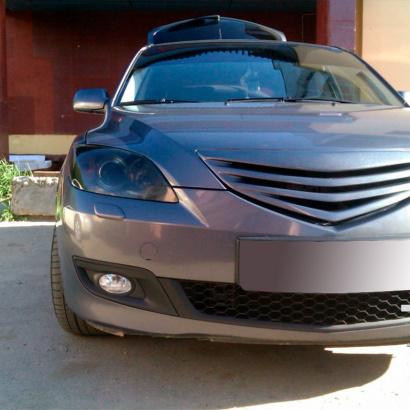 Тюнинг - Решетка радиатора на Mazda 3 BK